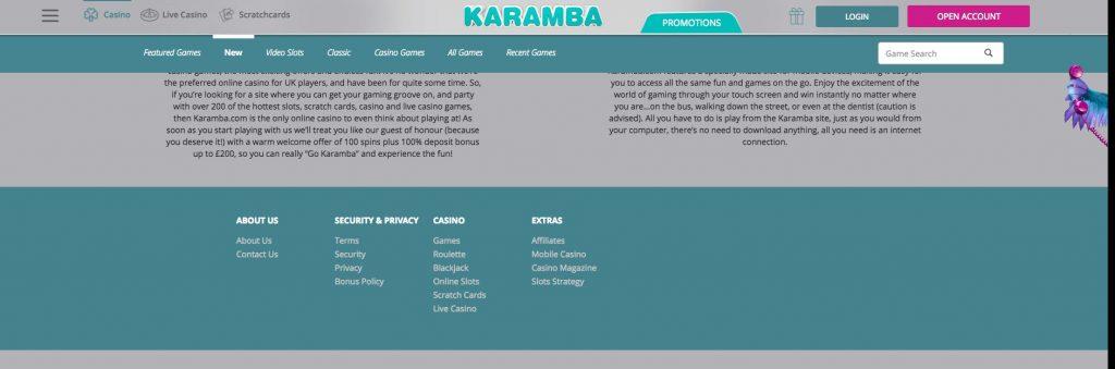 karamba casino online