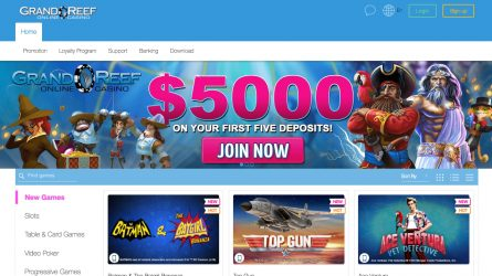 Online casino no deposit code grand vegas