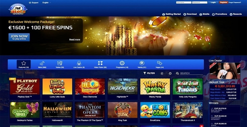 All Slots Casino-gmblsites