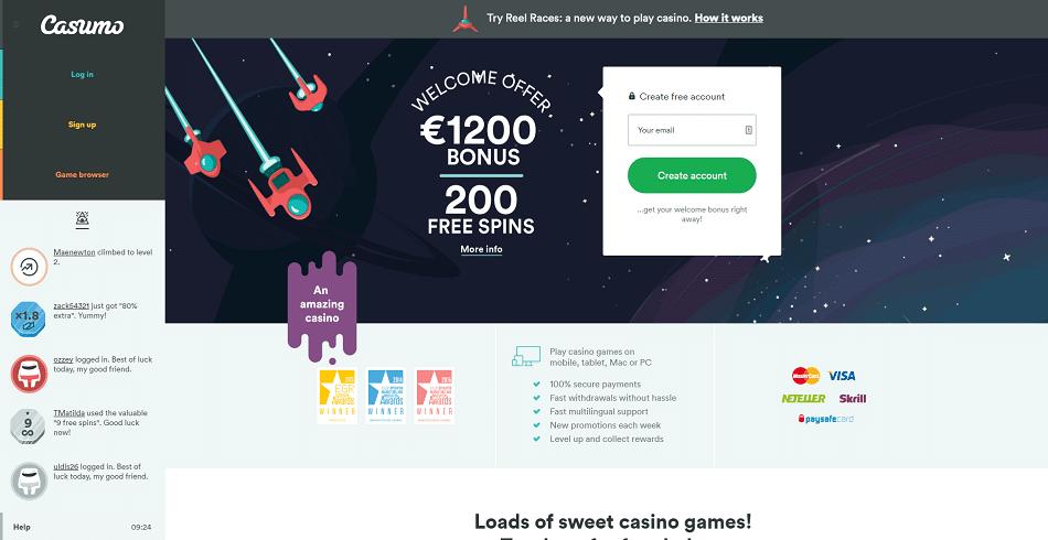 Casumo Casino-gmblsites