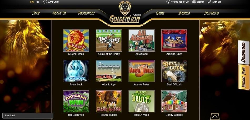 Golden Lion Casino-gmblsites