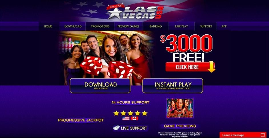 Las Vegas USA Casino-gmblsites