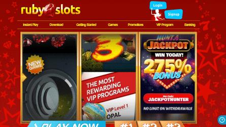 Ruby Slots Casino Site