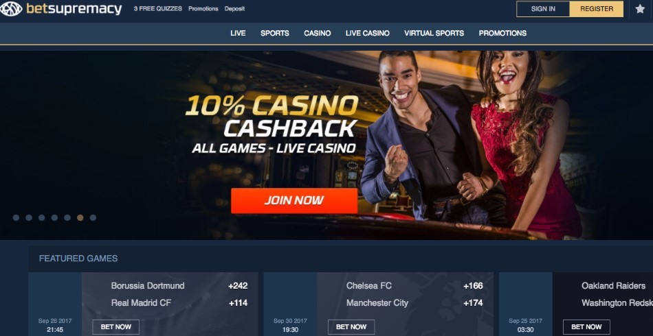 Betsupremacy casino gmblsites